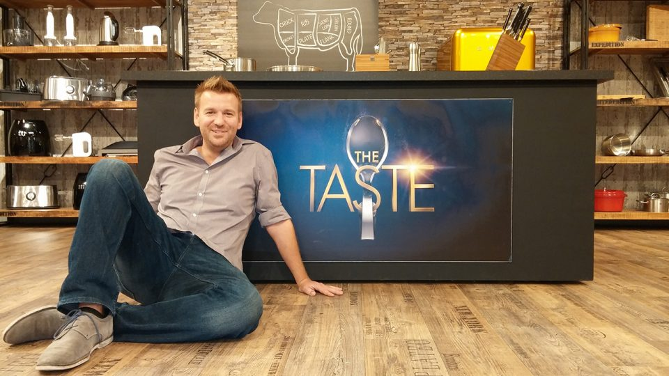 Gastkoch Jan Aigner, Gewinner der TV-Kochshow The Taste 2014